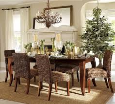Stunning Christmas Table Settings Dining Room Table Decorating - Dining room table decorations for summer