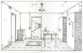 dessin chambre en perspective dessiner une en perspective frontale solutions pour la