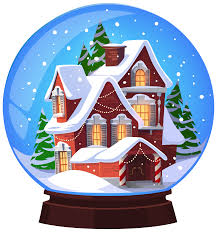 Christmas House by Christmas House Snowglobe Transparent Png Clip Art Image