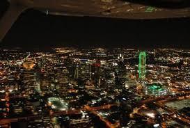 christmas light airplane tour starlight flight