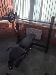 powertec weight bench u0026 rack in south queensferry edinburgh
