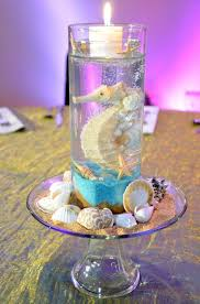 Candle Centerpieces For Birthday Parties by Best 20 Beach Theme Centerpieces Ideas On Pinterest Beach