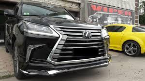 wald lexus lx570 тюнинг и обвес lexus lx570 спорт пакет аэродинамический обвес