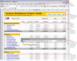 Home Construction Estimating Spreadsheet by Uda Construction Office 2003 Estimating Screenshots