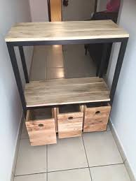 Front Hallway Table Pallet Entryway Table With Drawers Pallet Furniture Plans