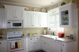 Leeann Painted Kitchen Cabinets Process Review Dining Cabinets - Painting old kitchen cabinets white