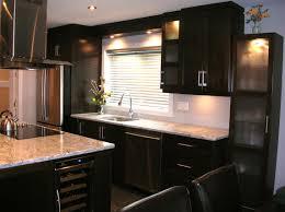 armoire de cuisine moderne chocolatine les armoires inc
