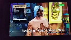 gta 5 online face paint how ago get try hard face paint youtube