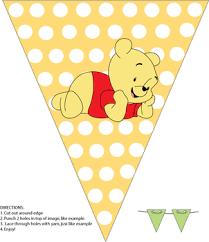 printable birthday decorations free banner winnie the pooh party decorations free printable ideas
