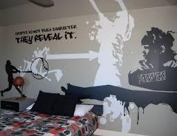 Teen Boy Bedroom Ideas by Boys Room Sports Graffiti Room Teen Boys Bedrooms Boys Bedrooms