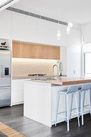 scandinavian breakfast bar textured white kitchen backsplash u