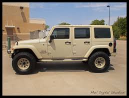 sand jeep wrangler sahara tan jeep wrangler unlimited mwbutterfly flickr