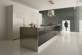 inox cuisine cuisine armony blanche plan de travail inox style industriel