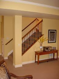 Cool Finished Basements Finish Basement Stairs Finishing Basement Stairs With Nustair