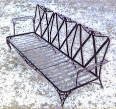 Wrought Iron Patio Furniture by Garden Furniture Woodard Wrought Iron Chaise Lounge Orleans