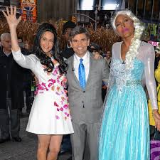 ginger zee as ariana grande good morning america halloween