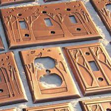 craftsman style light switches 146 best arts crafts copper images on pinterest hammered copper