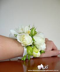 White Rose Wrist Corsage Rose Freesia Wrist Corsage Wrist Corsage Of White Roses An U2026 Flickr