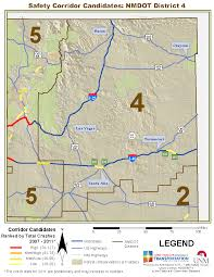 Nm Map Multi Year Maps Gps Traffic Research Unit The University Of