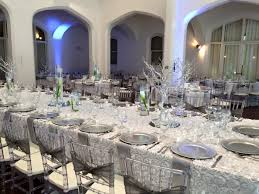 rosette tablecloth rental