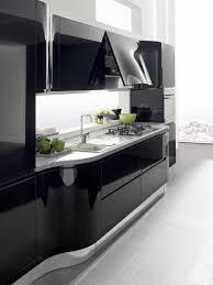 contemporary kitchen laminate high gloss lacquered capri