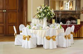 wedding table setting stock photo image of hall celebration