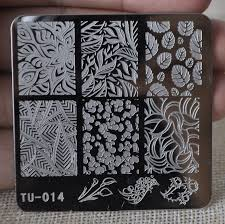 nail stamping plates stamp nail art template manicure tools