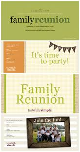 Family Reunion Invitation Cards 79 Best Tastefully Simple Products Images On Pinterest