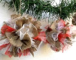 tree ornaments offer set of 10 burlap