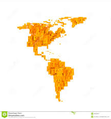 America Latina Map by Latin America 3d World Royalty Free Stock Image Image 12155966