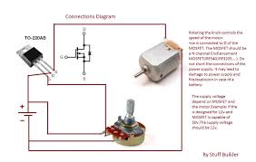 how to build the simplest dc motor speed controller using