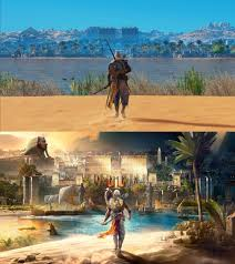 Assassins Creed Black Flag 179 593 I Tried To Recreate The Box Art From Ac Origins In Game