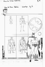 how to draw batman ty templeton u0027s art land