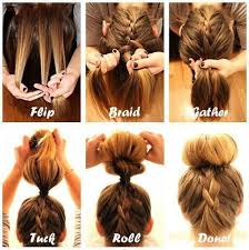 easy hairstyles for waitress s 10 quick and easy hairstyles step by step braided bun