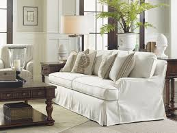 Sofa Slipcovers Sectionals by Coventry Hills Stowe Slipcover Sofa Cream Lexington Home Brands