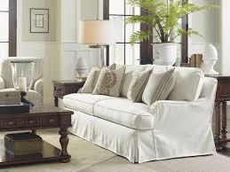 coventry hills stowe slipcover sofa cream lexington home brands