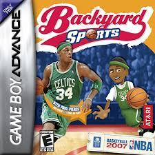 Backyard Basketball Pc by Play Backyard Sports Basketball 2007 Nintendo Game Boy Advance