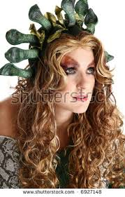 medusa hair costume beautiful 30 year old woman medusa stock photo royalty free