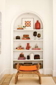 decorating bookshelves southern living