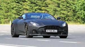 aston martin matte black aston martin db11 s spied with matte black body lower suspension