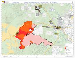 Oregon Wildfire Map by Central Or Fire Info Milli Fire Daily Update August 30