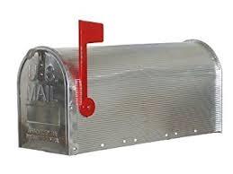 cassetta della posta americana cassetta per la posta americana us mailbox incl asta di
