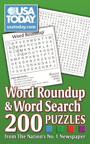 usa today crossword answers july 22 2015 usa today word roundup and word search 200 puzzles from the