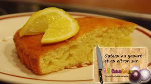 recette de cuisine facile et rapide gratuit recette du gâteau au yaourt et au citron facile et rapide
