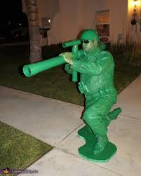 Army Halloween Costumes Mens Toy Story Soldiers Homemade Halloween Costume Photo 2 7