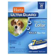 hartz ultra guard flea u0026 tick collar for dogs meijer com