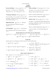 calculus cheat sheet google search pinterest