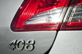 peugeot 408 used car new peugeot 408 sedan breaks cover in china