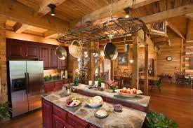 Log Home Kitchens Log Home Interiors