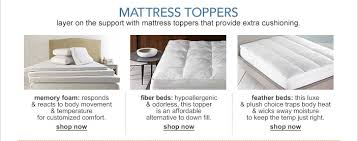 bed pillow toppers mattress toppers and pads macy s